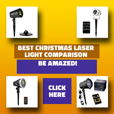 best laser christmas lights comparison